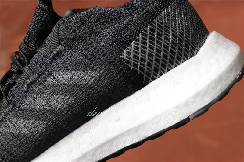 Adidas  Pure Boost Men And  Women Black 6