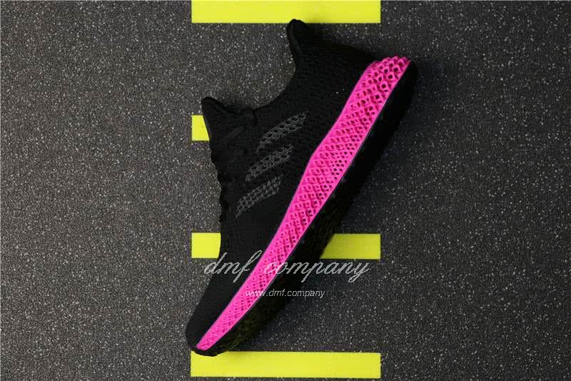Adidas Futurecraft 4D Y-3 Runner 4D Black And Red Men And Women 1