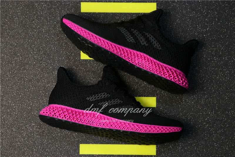 Adidas Futurecraft 4D Y-3 Runner 4D Black And Red Men And Women 2