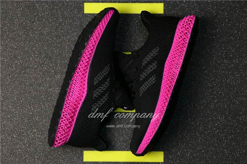 Adidas Futurecraft 4D Y-3 Runner 4D Black And Red Men And Women 3