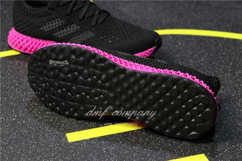 Adidas Futurecraft 4D Y-3 Runner 4D Black And Red Men And Women 6