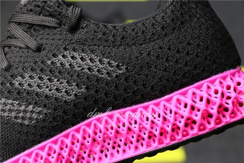Adidas Futurecraft 4D Y-3 Runner 4D Black And Red Men And Women 7