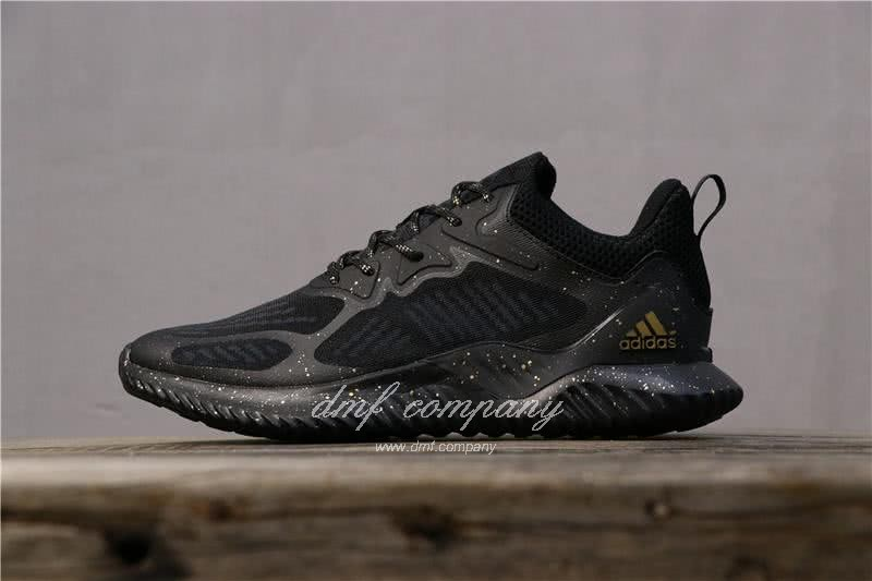 Adidas Alpha Bounce All Black Men 1
