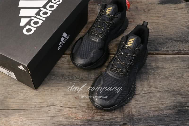 Adidas Alpha Bounce All Black Men 8