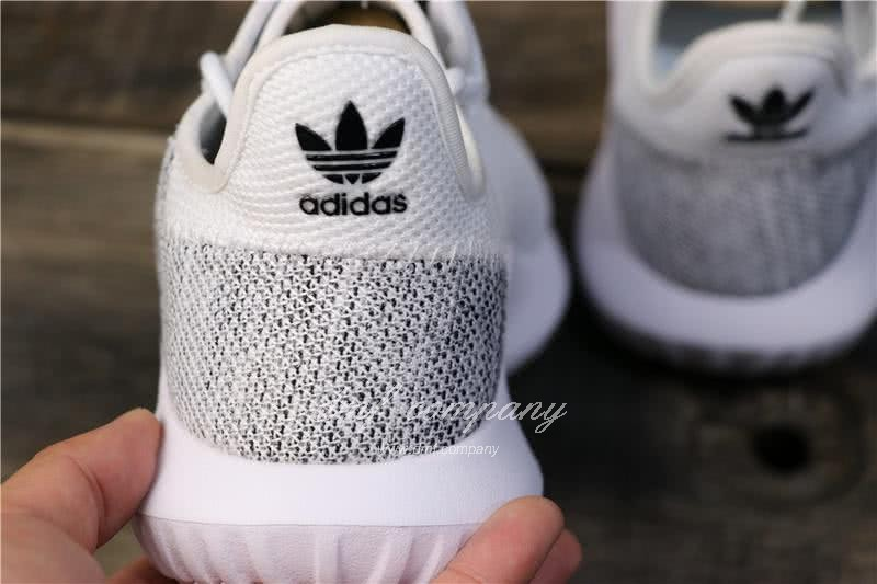 Adidas Tubular Shadow Grey Upper And White Sole Men And Women 4