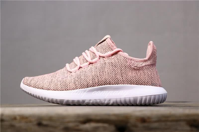 Adidas Tubular Shadow Pink Upper White Sole Men And Women 1