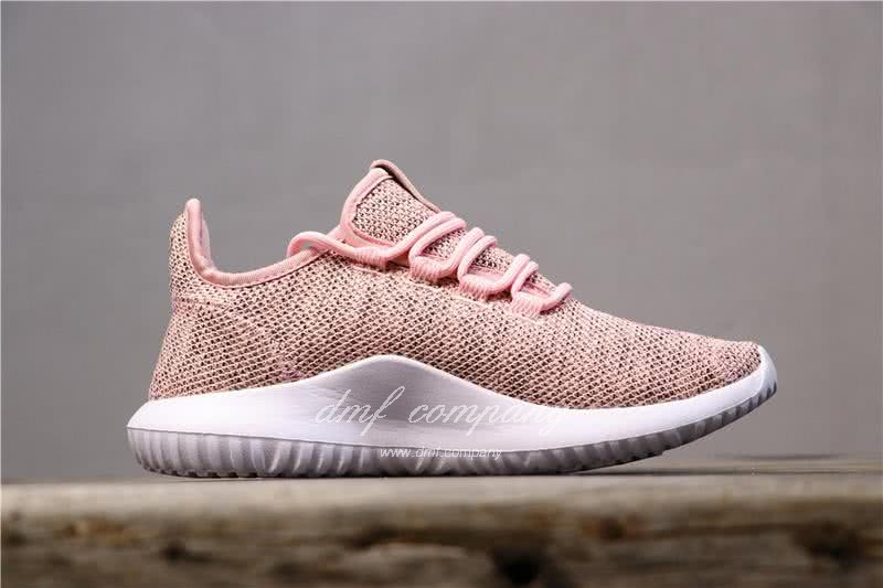 Adidas Tubular Shadow Pink Upper White Sole Men And Women 2