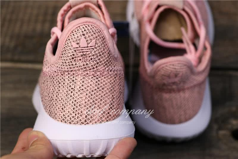 Adidas Tubular Shadow Pink Upper White Sole Men And Women 4