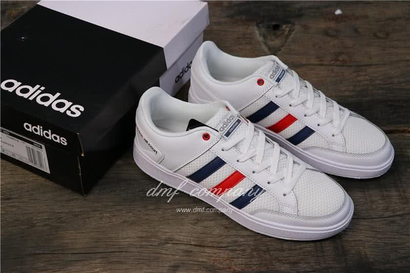 Adidas  CF ALL COURT Blue and Red Men/Women 6