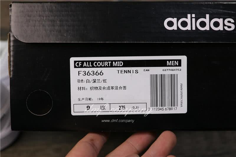 Adidas  CF ALL COURT Blue and Red Men/Women 7