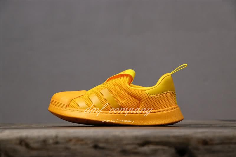 Adidas SUPERSTAR 360 Ⅰ Yellow Kids 1