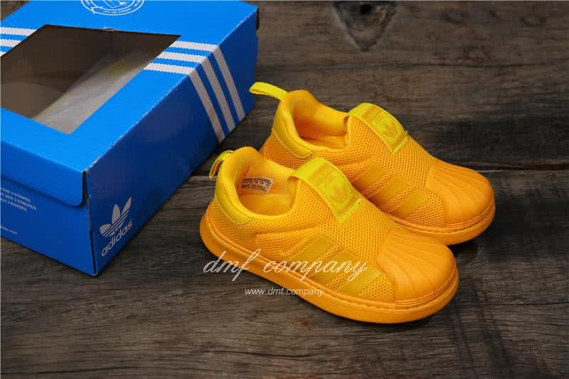 Adidas SUPERSTAR 360 Ⅰ Yellow Kids 5
