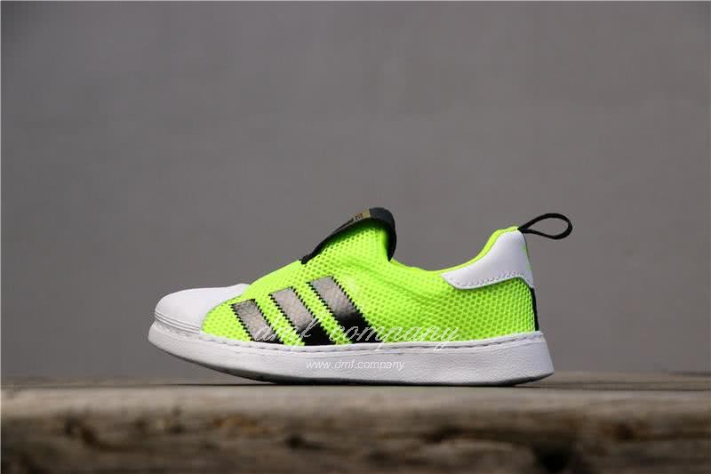 Adidas SUPERSTAR 360 Ⅰ Fluorescent Green Kids 1