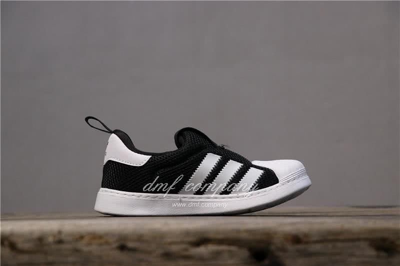 Adidas SUPERSTAR 360 Ⅰ Black/White Kids 3