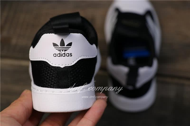Adidas SUPERSTAR 360 Ⅰ Black/White Kids 4
