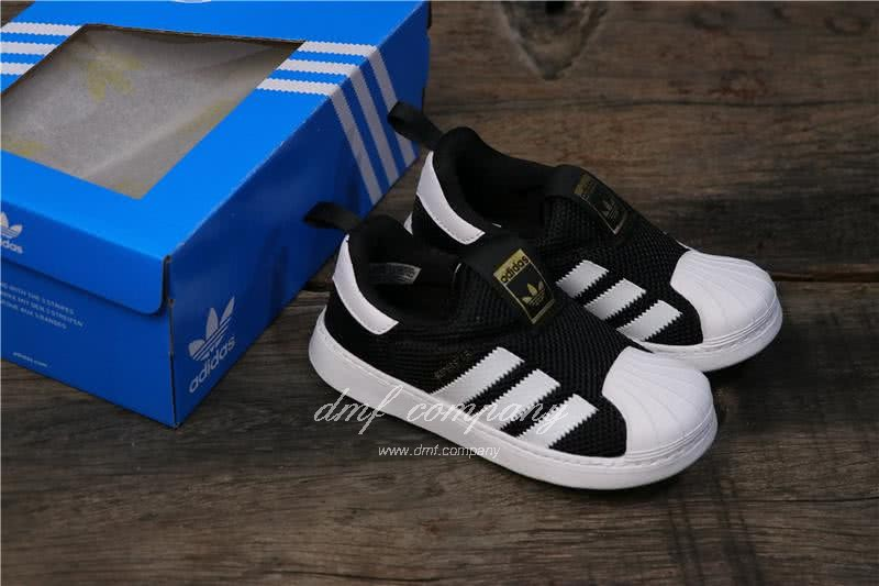 Adidas SUPERSTAR 360 Ⅰ Black/White Kids 5