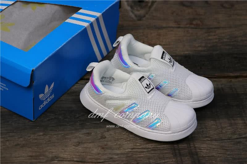Adidas SUPERSTAR 360 Ⅰ Laser Kids 6