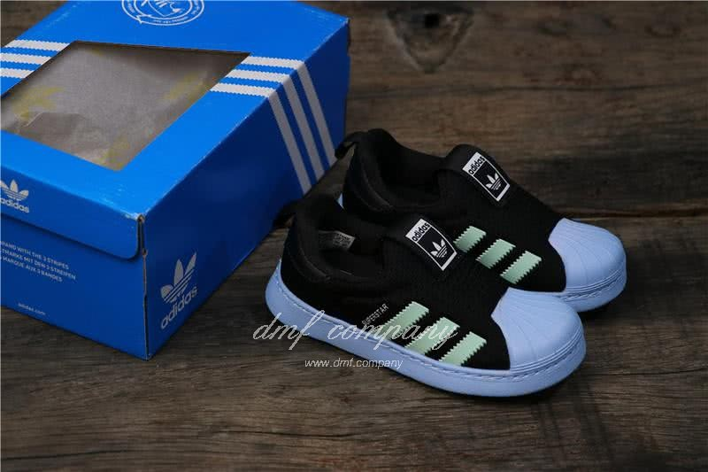 Adidas SUPERSTAR 360 Ⅰ Deep Blue Kids 5
