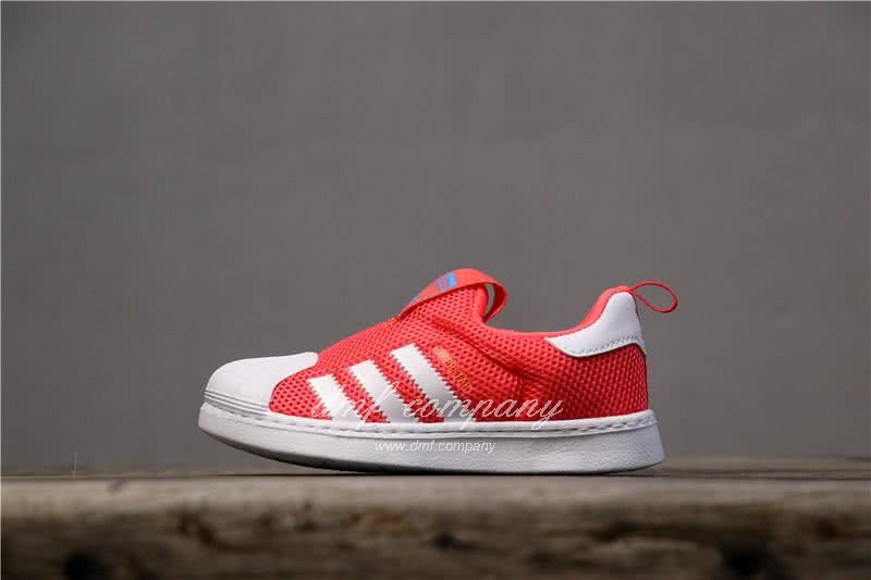 Adidas SUPERSTAR 360 Ⅰ Orange Red Kids 1