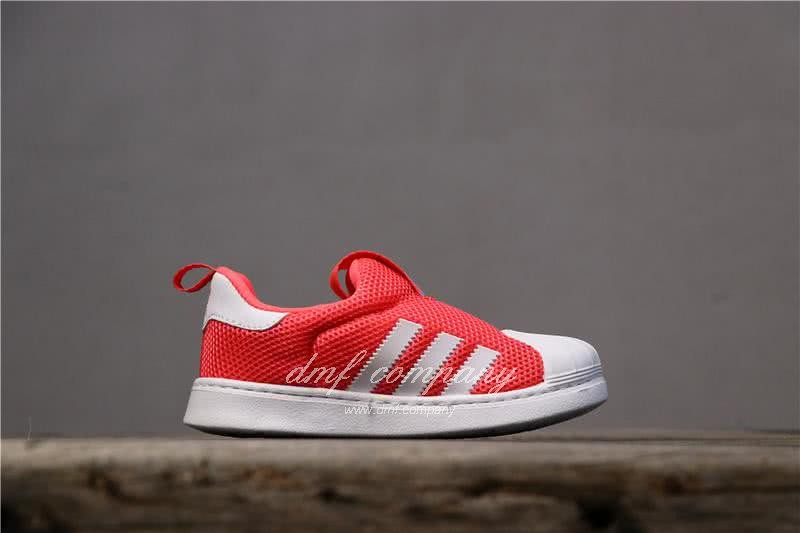 Adidas SUPERSTAR 360 Ⅰ Orange Red Kids 3