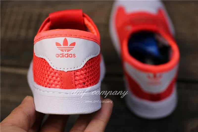 Adidas SUPERSTAR 360 Ⅰ Orange Red Kids 4