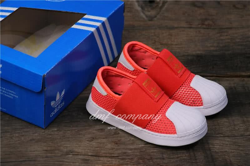 Adidas SUPERSTAR 360 Ⅰ Orange Red Kids 6