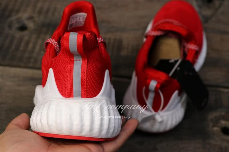 Adidas Tubular Doom Sock Red And White Men And Women 4