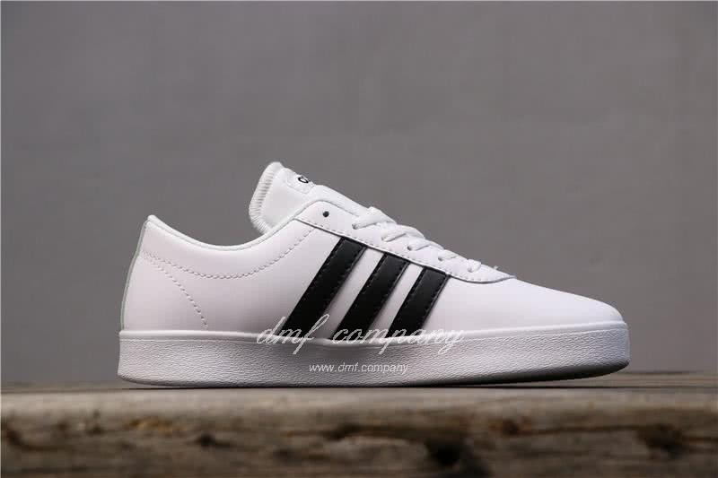 Adidas VL COURT 2.0 Neo White/Black Men 5