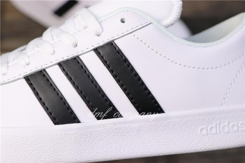 Adidas VL COURT 2.0 Neo White/Black Men 8
