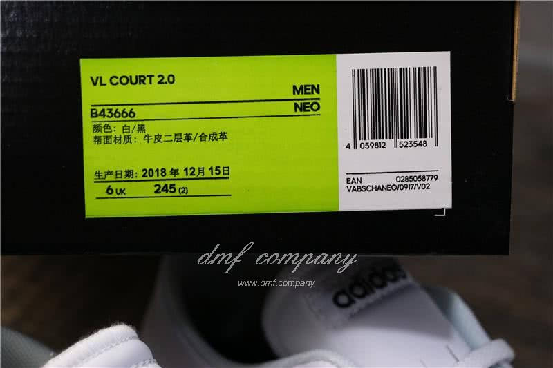 Adidas VL COURT 2.0 Neo White/Black Men 2