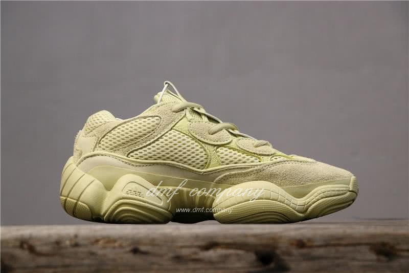 Adidas Yeezy Desert Rat 500 All Yellow Men And Women 4