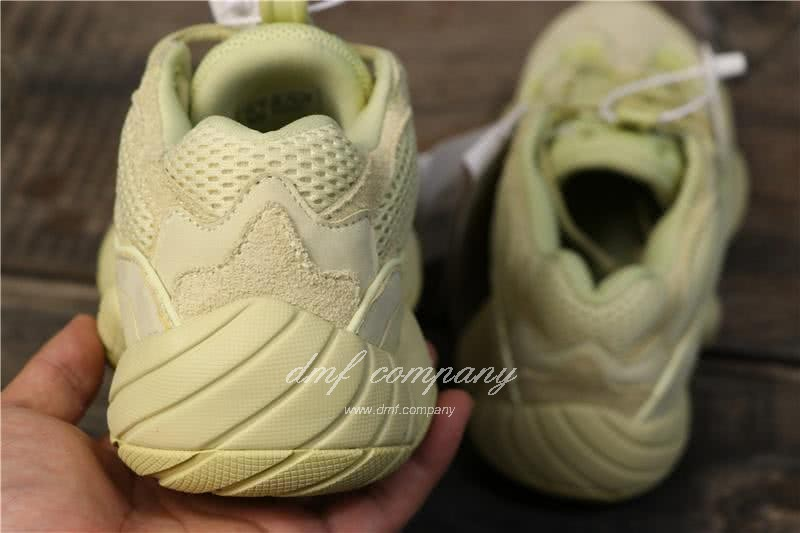 Adidas Yeezy Desert Rat 500 All Yellow Men And Women 6