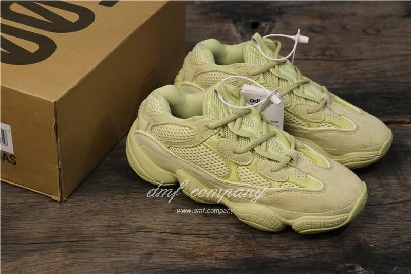 Adidas Yeezy Desert Rat 500 All Yellow Men And Women 3