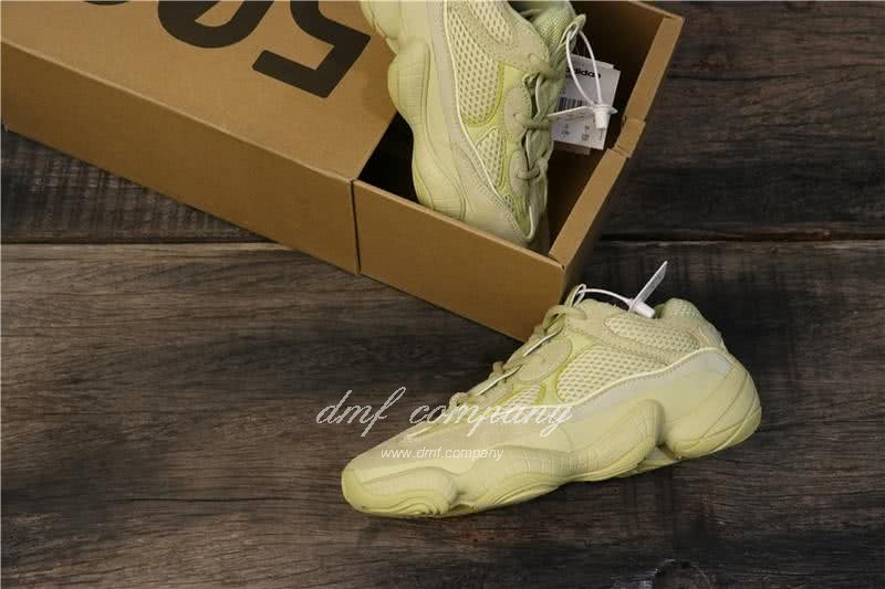 Adidas Yeezy Desert Rat 500 All Yellow Men And Women 8