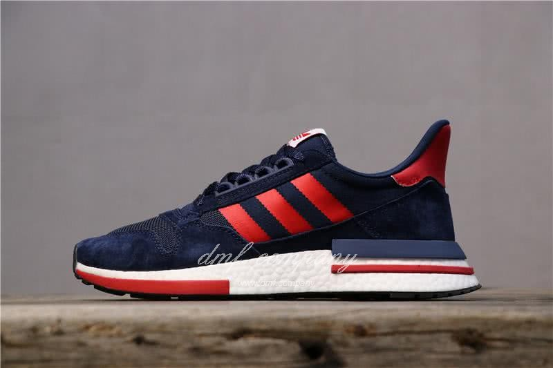 Adidas ZX500 RM Boost Black Red And White Men And Women 1