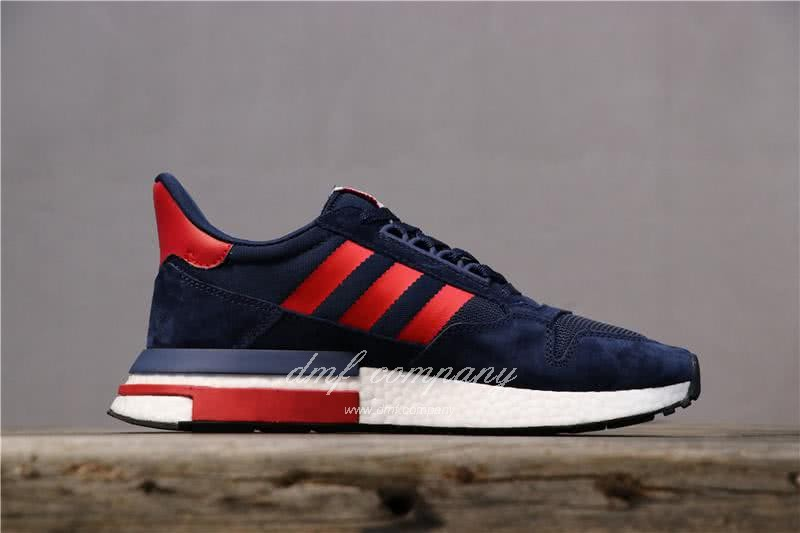 Adidas ZX500 RM Boost Black Red And White Men And Women 2