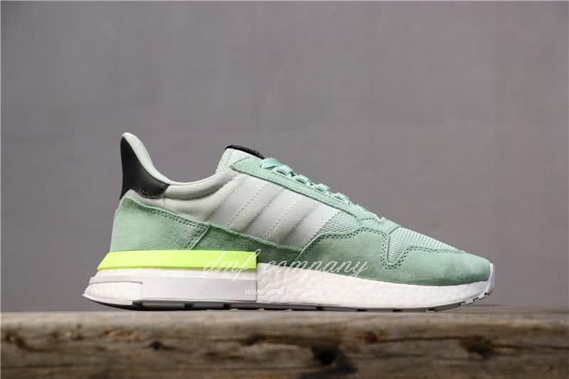 Adidas ZX500 RM Boost Green And Yellow Men And Women 2