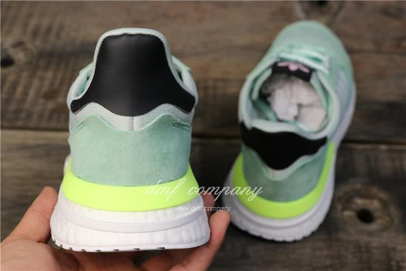 Adidas ZX500 RM Boost Green And Yellow Men And Women 6