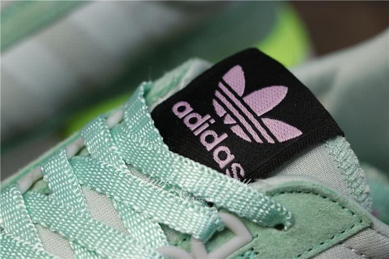Adidas ZX500 RM Boost Green And Yellow Men And Women 12