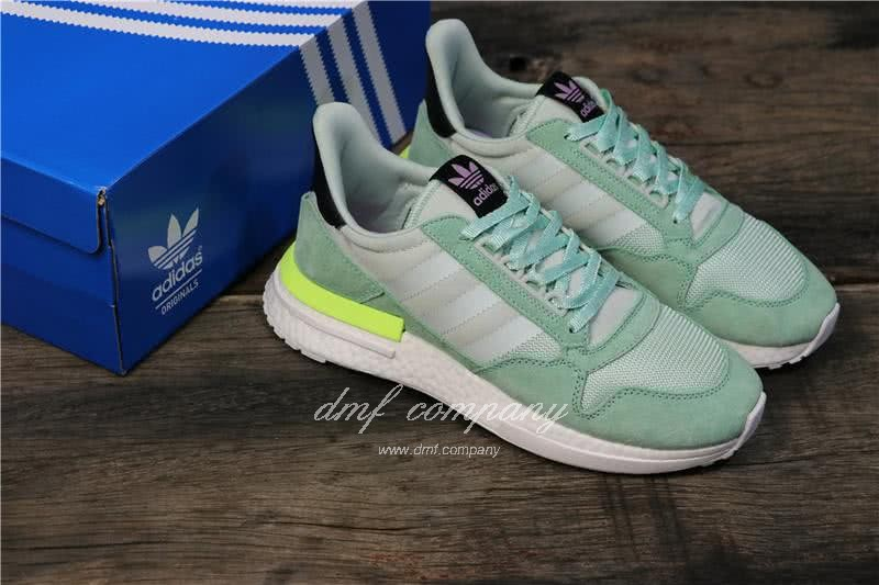 Adidas ZX500 RM Boost Green And Yellow Men And Women 17