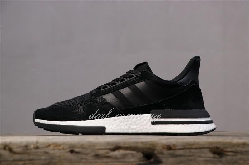 Adidas ZX500 RM Boost Black And Whire Men And Women 1