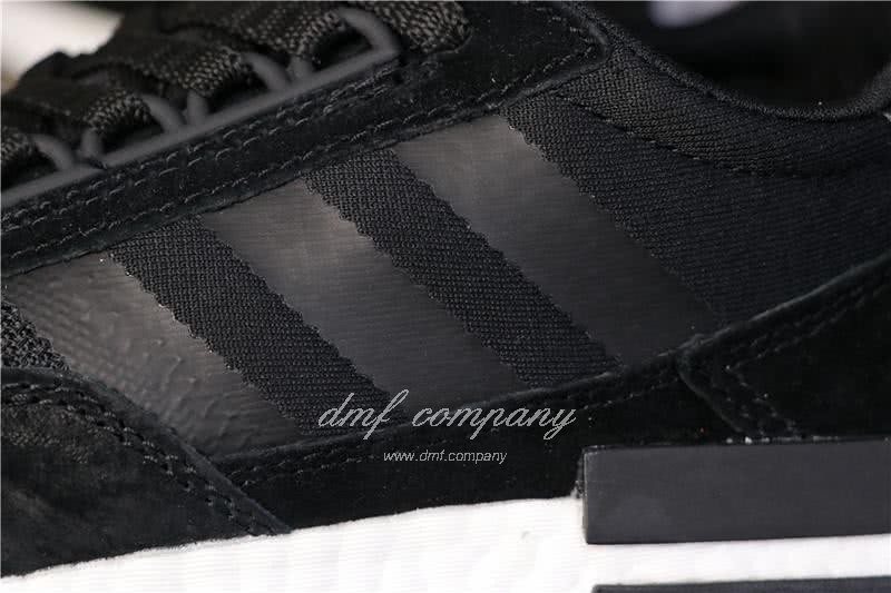Adidas ZX500 RM Boost Black And Whire Men And Women 5