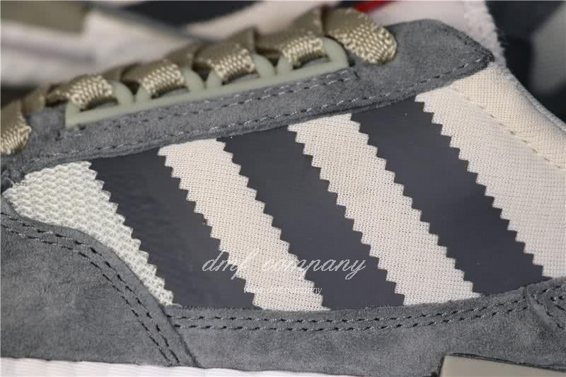 Adidas ZX500 RM Boost Grey White And Red Men And Women 5
