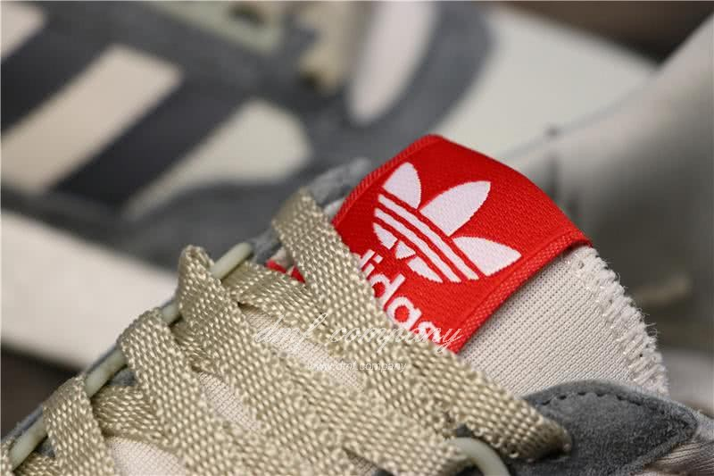 Adidas ZX500 RM Boost Grey White And Red Men And Women 6