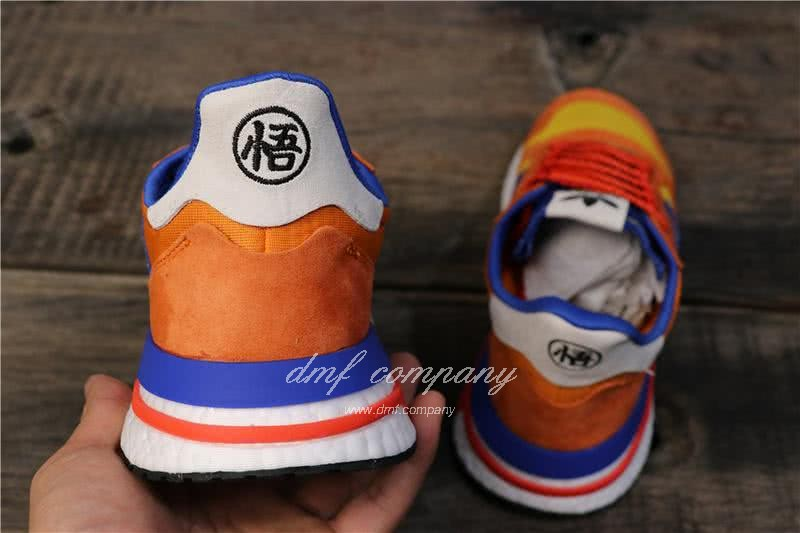 Adidas ZX500 RM Boost Orange Blue And Yellow Men And Women 4