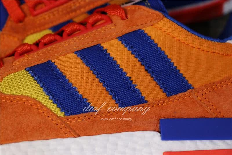 Adidas ZX500 RM Boost Orange Blue And Yellow Men And Women 5
