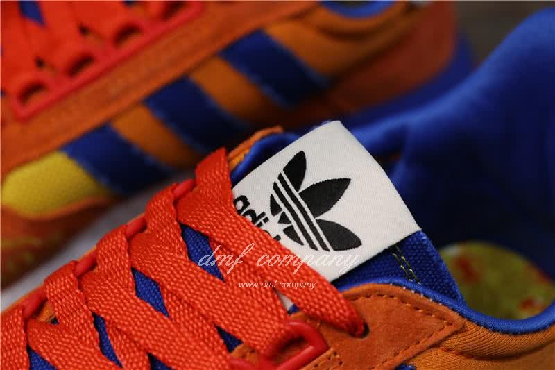 Adidas ZX500 RM Boost Orange Blue And Yellow Men And Women 6