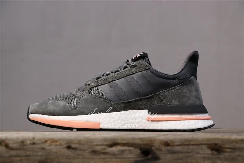Adidas ZX500 RM Boost Black White And Pink Men And Women 1