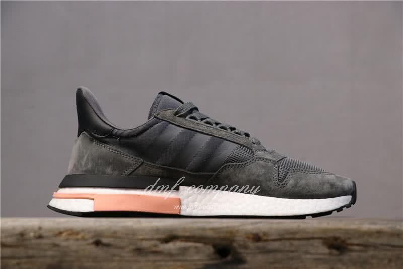 Adidas ZX500 RM Boost Black White And Pink Men And Women 2