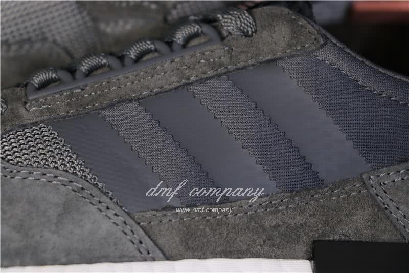 Adidas ZX500 RM Boost Black White And Pink Men And Women 6